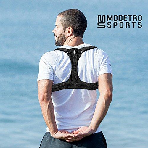 Modetro Sports Posture Corrector Spinal Support - Brace for Men or Women