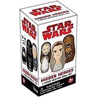 Star Wars Hidden Heroes Blind Box Nesting Dolls, One Random Set