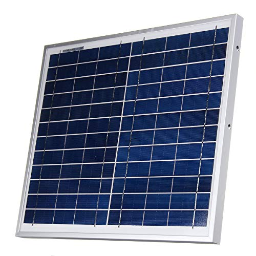 ChaRLes 12V 12W Polysilizium Solar Panel Batterie Ladegerät System Modul Marine Boot Rv Wasserdicht Rv Marine Batterien