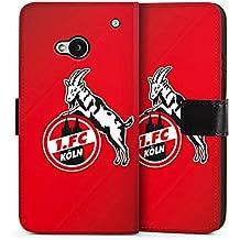 HTC One M7 Tasche Hülle Flip Case 1. FC Köln Fanartikel Fußball