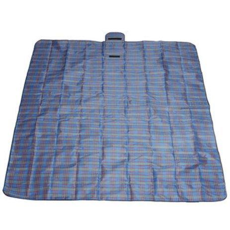 Bluelover 2X2M Feuchtigkeitsfeste Wasserdichte Oxford Tuch Picknick Strand Matte Decke Camping Climb Home - Blau