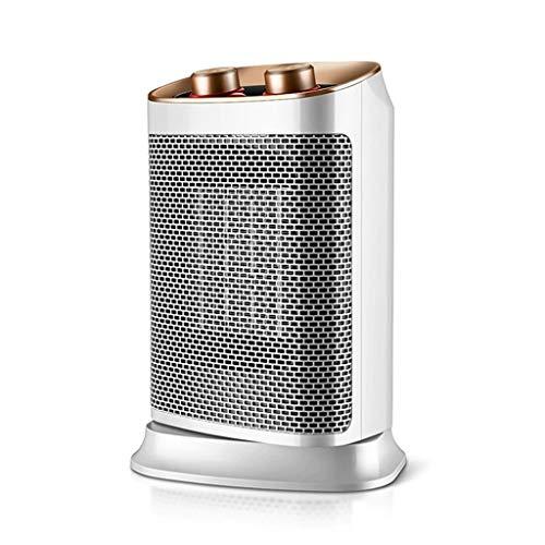 Heizlüfter Neue Mini-Elektroheizungen, 3 Sekunden Schnelle Heizung Tragbare Kompakte Plug-In-Digitalanzeige Thermische Keramikkühler (Weiß, 400 Watt)