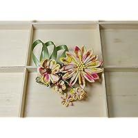 Kanzashi Blumen Haarspange Haars