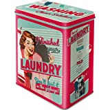 Nostalgic-Art 30117 Say it 50's - Finished Your Laundry, Vorratsdose L