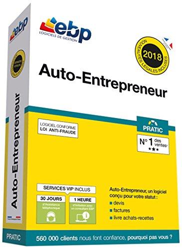 EBP Auto-Entrepreneur Pratic + VIP - Dernière version - Ntés Légales incluses