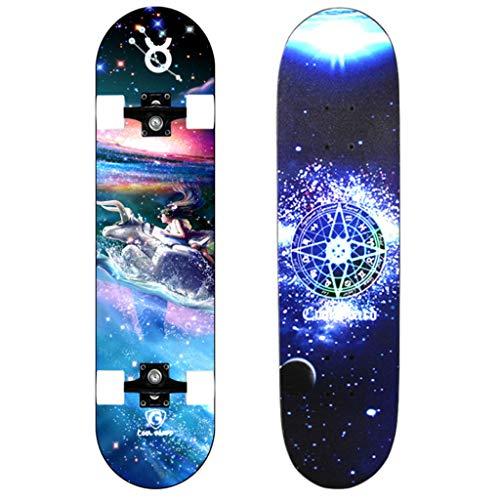 DIMPLEYA Constellation Flash Wheel Skateboard Scooter