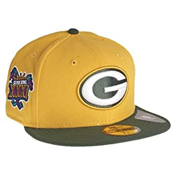 New Era Green Bay Packers 59Fifty Fitted Super Bowl Side Patcher NFL Cap 7