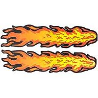 Suchergebnis Auf Amazon De Fur Autoaufkleber Flammen Auto Motorrad