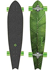 Streetsurfing Longboard Fishtail 42' - The Leaf