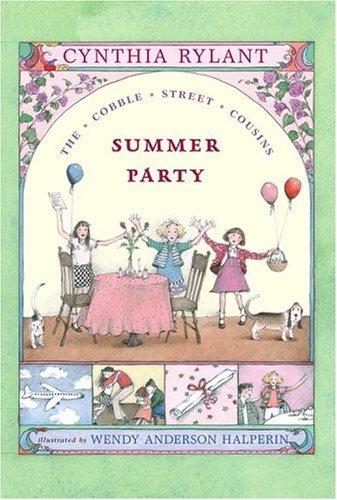 Summer Party (Cobble Street Cousins) por Cynthia Rylant
