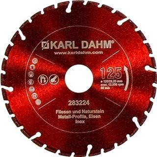 Karl Dahm Profi Diamant Trennscheibe ALLROUNDER 230 mm Fliese-Metall-Edelstahl 50049-230x22,23 mm