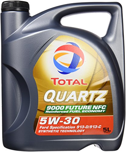 Total 183199 Quartz 9000 Future NFC 5W30 Lubrifiant, 5 l