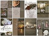 50 Trauerkarten Beileidskarten Kondolenz Trauer Grußkarten Klappkarten mit 50 Umschlägen 81-1700