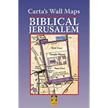 Carta's Wall Maps of Biblical Jerusalem: Carta Wall Map