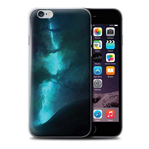 Offiziell Chris Cold Hülle / Case für Apple iPhone 6+/Plus 5.5 / Pack 12pcs Muster / Fremden Welt Kosmos Kollektion Elektro-Sturm