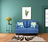 #9: Urban Living Columbus Two Seater Sectional Sofa (Blue)