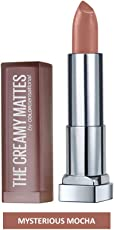 Maybelline New York Color Sensational Creamy Matte, 631 Mysterious Mocha, 3.9g