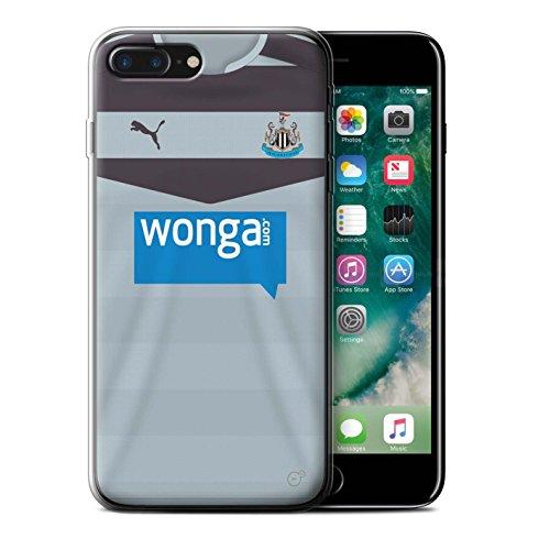 Officiel Newcastle United FC Coque / Etui Gel TPU pour Apple iPhone 7 Plus / Pack 29pcs Design / NUFC Maillot Extérieur 15/16 Collection Gardien But