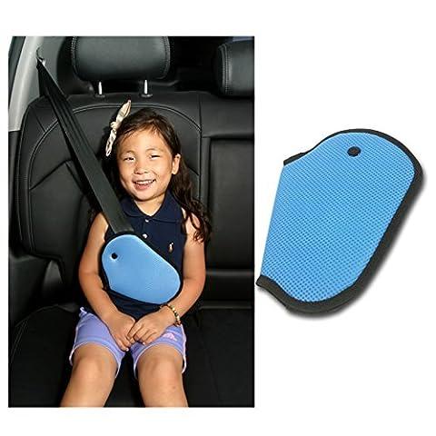 Car Cover Harnais de sécurité pour enfant SE Repositionne Strap Ajusteur Mash Pad enfants Seat Belt Ceinture de sécurité Clip Booster Adulte enfants Clips de ceinture de sécurité