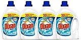 Dixan Detergente Gel Total Botella - Pack de 4 x 30 lavados