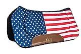 HKM Western Westernpad -Stars & Stripes-, Flag USA, Vollblut/Warmblut