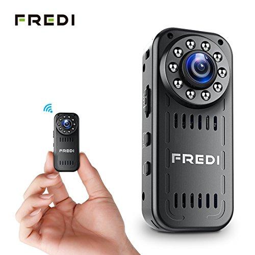 FREDI Mini-Überwachungskamera 1080p hd mini wlan  im Test