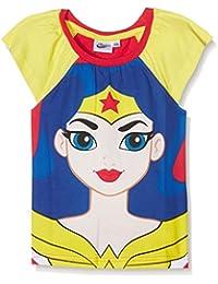 DC Super Hero Girls DCHE27101, Camiseta de Pijama Para Niñas