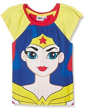 DC Super Hero Girls DCHE27101 T-Shirt, Bambina