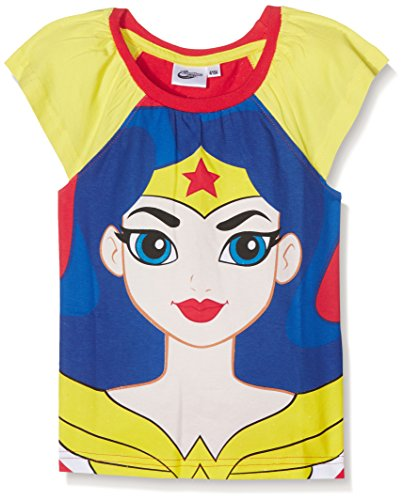 DC Super Hero Girls Girl's Dche27101 T-Shirt