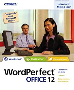 WordPerfect Office 12, mise à jour