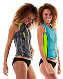 JOBE REVERSIBLE COMP WOMEN ZIPPER Weste 2018 lime/teal, M+