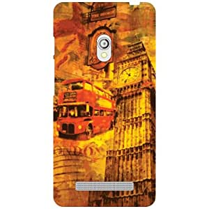 Asus Zenfone 5 A501CG Back Cover ( Designer Printed Hard Case)