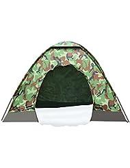 Outdoor Zelt wasserdicht leicht Fishing Camping 1-4 Personen Zelte mit Fiberglas für Bergwandern Reisen Camping Festival