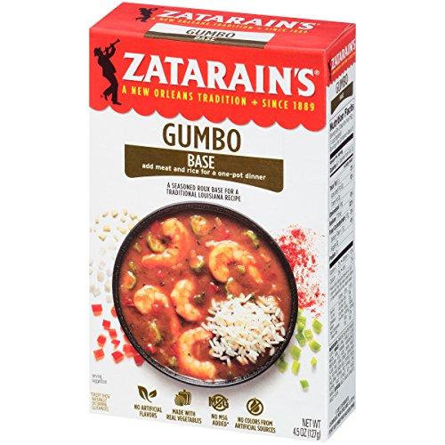 Zatarain's Gumbo Base, 4.5 oz (Case of 12)
