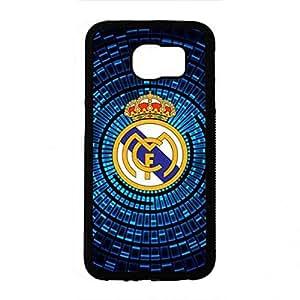 Fantasty Design Real Madrid Schutzhülle Für Samsung S6, Samsung Galaxy S6 Real Madrid Handyhülle, Real Madrid Telefonkasten Hard Plastik Hülle, Real Madrid Hülle SchutzHülle Protector Hülle