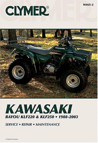 Kawasaki Bayou Klf220 & Klf250, 1988-2003 (Clymer All-terrain Vehicles) por Clymer Publications