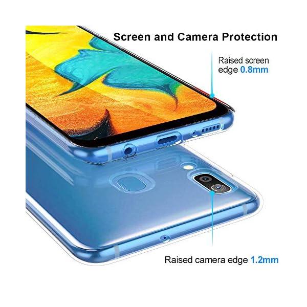 Oihxse Funda Samsung Galaxy C9 Pro, Ultra Delgado Transparente TPU Silicona Case Suave Claro Elegante Creativa Patrón… 3