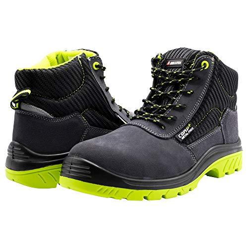 bellota 7230942s1p bota de seguridad, negro, verde, 42