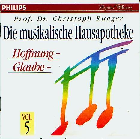 Preisvergleich Produktbild Musikalische Hausapotheke Vol.5: Glaube - Hoffnung