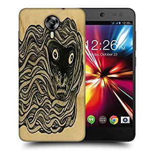 Snoogg Travismillard Printed Protective Phone Back Case Cover For Micromax Canvas Nitro 4G