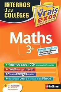 """Afficher """"Maths 3e"""""""