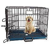 PSK PET MART Dog Cage 18 inch (Black)