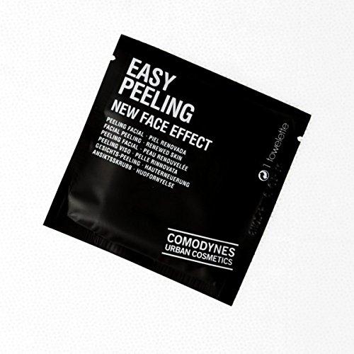 Comodynes Toallita Exfoliante Facial Piel Renovada Nuevo Efecto Para Cara - 1 Unidad