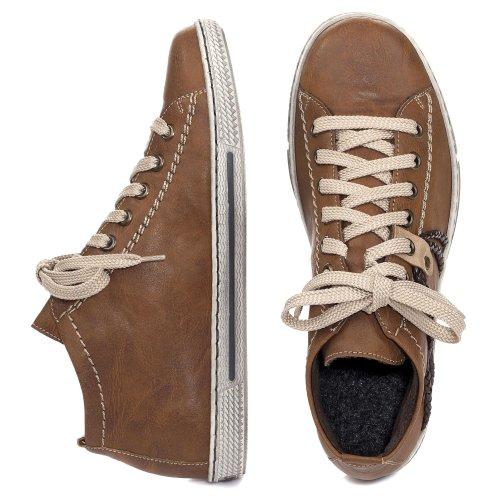 128 Desportivo Sapatos Dunas Caros Amendoim 370 Rieker Tdmoro SqI7pwp