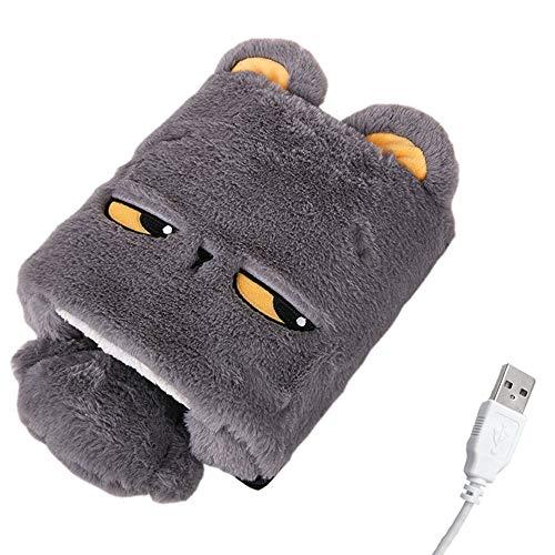 Yanhtso usb scaldamani mouse pad riscaldamento riscaldamento pad inverno caldo guanti cartoon carino computer da ufficio polso caldo pad mouse pad (forma : f.)