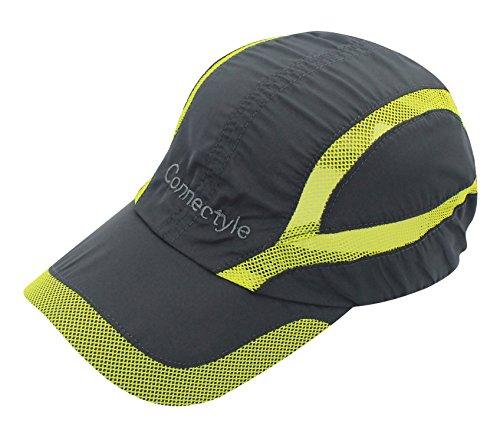 decentron gorra Unisex de secado rápido, de malla, para deportes al aire libre, gorra transpirable, para correr bajo el sol