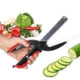Clever Cutter 2-in-1 Küchenschere Gemüseschneider