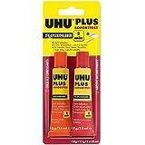 Uhu-Plus Sofortfest 35g 2-K-Epoxidharzkleber Tube Binder/Tube Härter