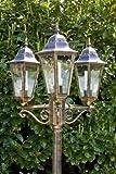 Kandelaber 3-flammig bronze schwarz gold