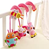 Caratteristiche:Perfect Toy For The Car Seat, baby carrier or CribMulti colors encourage Visual perceptionDevelop Baby' s Tactile Senses and hand Eye coordination NaturallySweet little Giraffe Crib Toy Wraps around Baby Crib Rail, stroller or...
